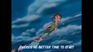 Peter Pan, You Can Fly (Lyrics)