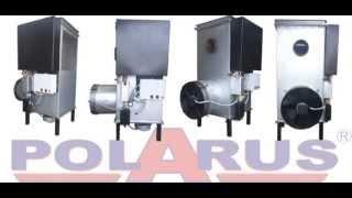 Печь на отработанном масле Polarus Р11М 60 (10-60кВт) от компании Оборудование для автосервиса, шиномонтажа и АЗС в Нижнем Новгороде - видео