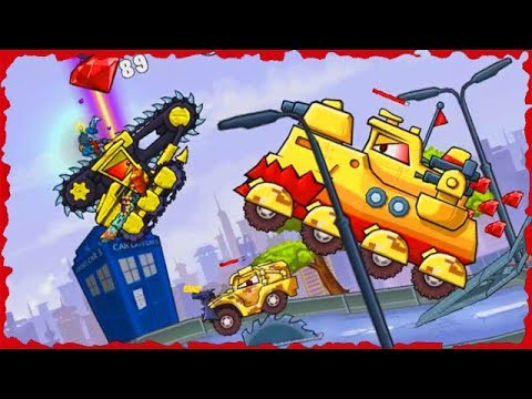 Car Eats Car 3 Mobile Game Walkthrough Level 30 37 Predatory Machines 5