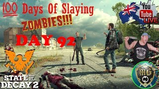 🔴 State Of Decay 2 🔴 Surviving For 100 Days Challenge, Is This The End????