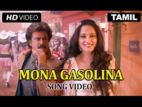 Mona Gasolina Official Song Video | Lingaa | Rajinikanth, Anushka Shetty