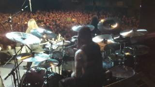 Mike Portnoy Drum Cam - Fates Warning - Eleventh Hour / Point Of View (excerpt).MOV