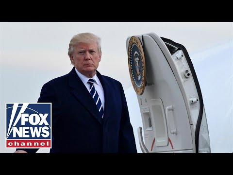 Live: Trump arrives in Philadelphia ahead of Army-Navy game