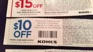 Kohls promo codes, february 2016. 30% off and more!!