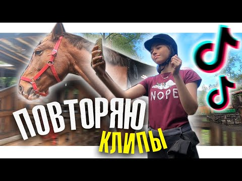 СНИМАЮ КЛИПЫ В ТИК ТОК (Конная версия) / Коноблог