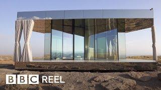 The Glass House Designed For The Desert - BBC REEL