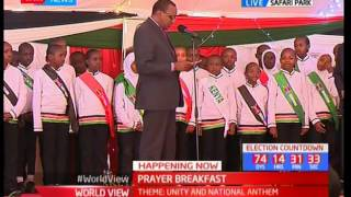 NATIONAL PRAYER BREAKFAST - 25th May 2017 - President Uhuru commissions Ambassadors of peace