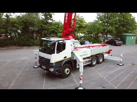 5Z36 Sermac Truck Mounted Concrete Pump