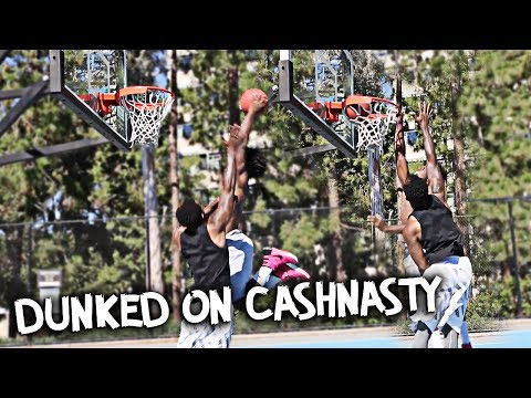 2V2 BASKETBALL NIQS & MEGA MCQUEEN VS CASHNASTY & MAL! DUNKED ON CASHNASTY