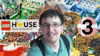 Дания. LEGO House. Часть 1. Холл, магазин, зоны развлечений