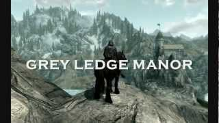Skyrim Mod: Grey Ledge Manor -- No Load Doors