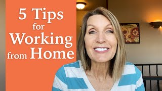 5 Tips for Working from Home [Energy Shot #54]