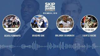Bears/Cowboys, Grading Dak, Orlando Scandrick, Saints/49ers | UNDISPUTED Audio Podcast