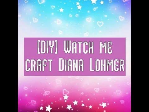 DIY ★ | ➤ Elastische Fixierbinde ➤ #Färben| Diana Lohmer  - 💗 - |