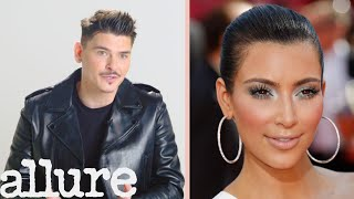 Kim Kardashian's Makeup Artist Mario Breaks Down Her Makeup Looks | Pretty Detailed | Allure - Video Youtube