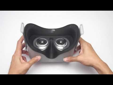 Oculus Go // Facial Interface & Foam Replacement Set / VRCover com
