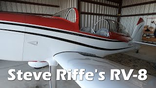 RV Aircraft Video - EAA Chapter 323 - Steve Riffe's RV-8 from Van's Aircraft