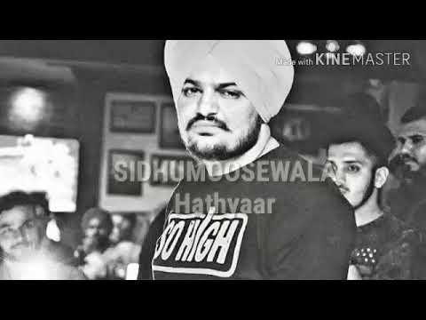HATHYAAR ( weapons) / sidhumoosewala new Punjabi single song latest