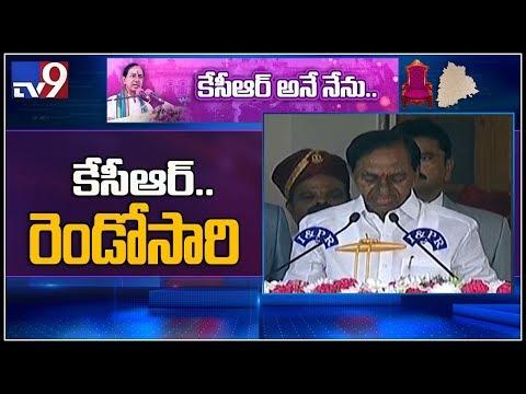 KCR takes oath as Telangana CM