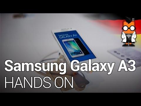 Samsung Galaxy A3 4,5 Zoll Metall-Smartphone im Hands-On [DEUTSCH]