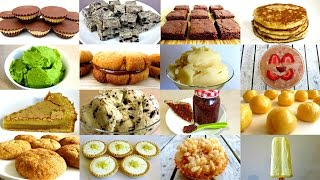 3 INGREDIENT RECIPES FROM COOKIES & CREAM FUDGE TO NUTELLA BROWNIES EASY DIY RECIPES