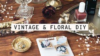 DIY Gifts | Vintage & Floral Inspired