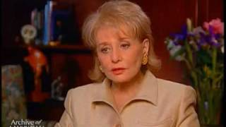 Barbara Walters On The Difficulty Of Interviewing Fred Astaire - EMMYTVLEGENDS.ORG