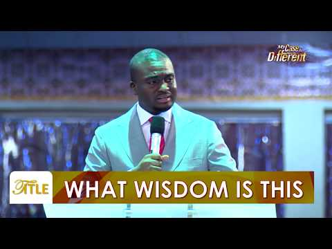 David Oyedepo Jnr - What Wisdom Is This? (PART 1) - The Great Light