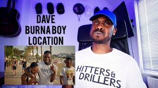 Dave   Location (ft. Burna Boy) [Reaction] | LeeToTheVI