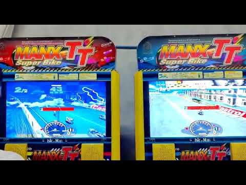 Man X TT Bike Racing Arcade Game