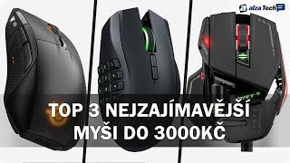 Tři nejzajímavější herní myši do 3000 Kč! - AlzaTech #706
