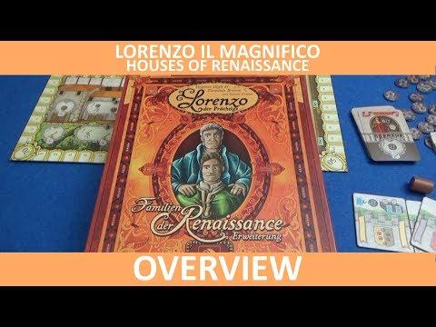 Lorenzo il Magnifico: Houses of Renaissance - Overview