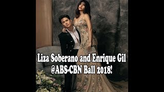 VIEWER's REACT: #LizaSoberano and #EnriqueGil creates an amazing picture at the #ABSCBNBall2018