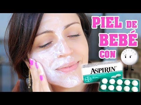 Mascarilla Casera para Combatir el Acne - Exfoliar con Aspirina