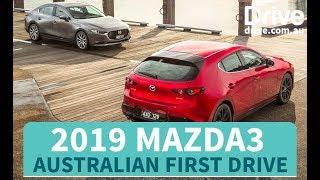 2019 Mazda3 Australian First Drive Review | Drive.com.au