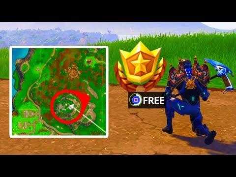 Leaked Week 4 Free Battle Pass Tier Location Fortnite Battle