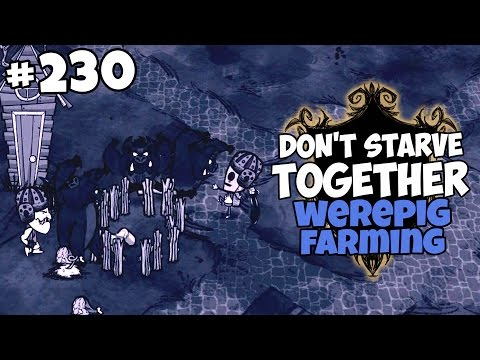 Werepig Farming, Frog Rain and a Varg - Don't Starve Together Gameplay - Part 230