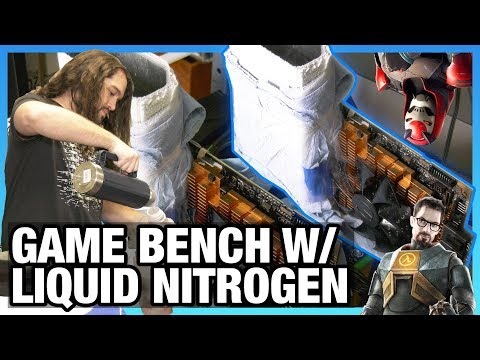 Extreme Overclock Gaming Benchmarks with Liquid  Nitrogen, Ft. Kingpin 2080 Ti