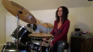 Foreigner  Break It Up ~ Drum Cover by Denise