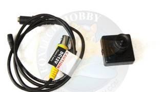 FoxTechFPV WDR 750 600tvl Mini FPV Camera Review