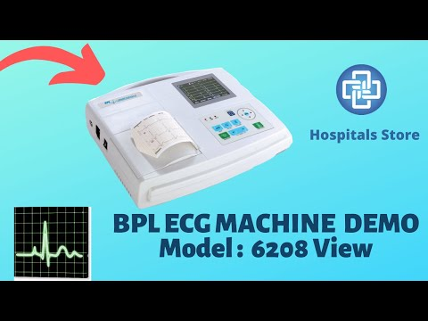 BPL 6208View ECG Machine