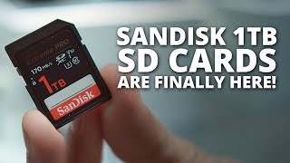 SanDisk has finally released their 1TB Extreme Pro SD Cards