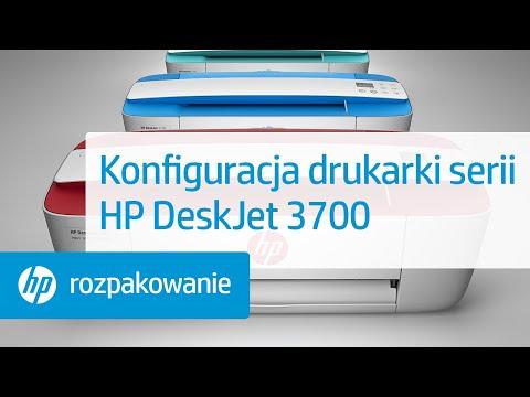 Konfiguracja drukarki serii HP DeskJet 3700