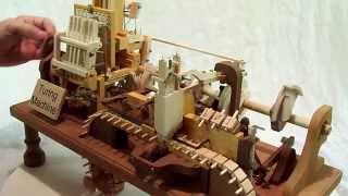 Mechanical Turing Machine in Wood
