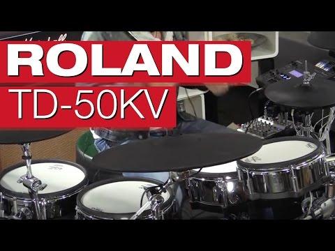 Roland TD-50KV Flagship V-Drums Kit – E-Drum-Review von Dirk Brand für session