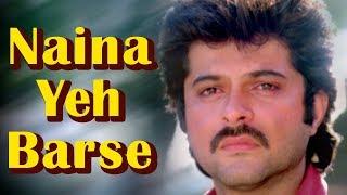 Naina Ye Barse [Part 2] (HD) - Mohabbat 1985 Song -  Anil Kapoor - Vijayta Pandit - Lata mangeshkar