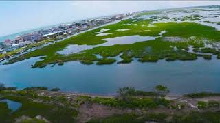 FPV Freestyle over the Marsh - Myrtle Beach, South Caroline - Drone, Clouds