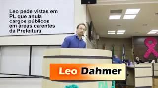 Leo Dahmer pede vistas em projeto da Prefeitura que cancela cargos