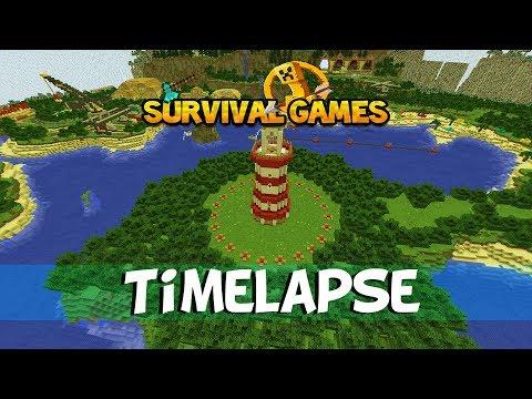Minecraft Survival Games Timelapse