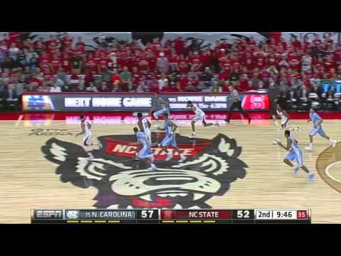 Video: UNC-NC State Game Highlights